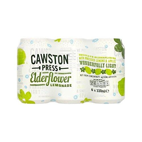 Cawston Presse Mousseux Sureau Limonade 6 X 330Ml (Paquet de 4)