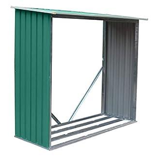 Gardiun KIS12966 – Leñero Metalico Holman Verde 1,37 M2.