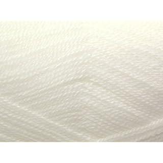 Stylecraft Wondersoft Baby 2 Ply Knitting Wool/Yarn White 1001 - per 100g ball