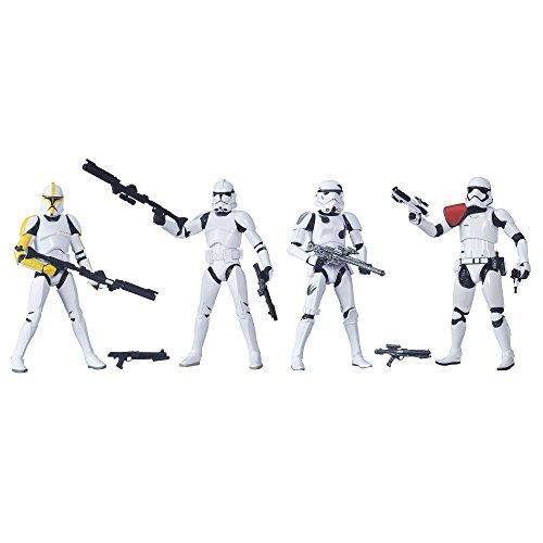 Star Wars The Black Series 15,2cm Stormtrooper 4-Pack [Amazon Exclusive]