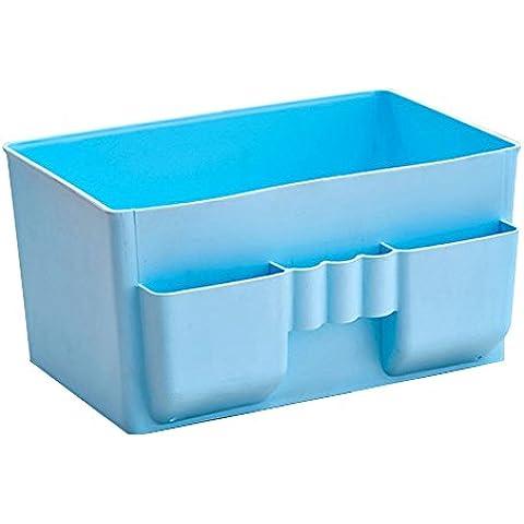 Japace® Mesa Oficina Plástico Cajas de Almacenaje del Maquillaje Caja / Creative Joyas y Cosméticos Caja Escritorio