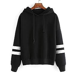 Casual Hoodie, Tonsee Womens Long Sleeve Sweatshirt Jumper Hooded Pullover Tops Blouse