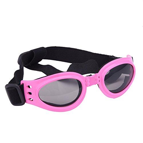 greencolourful Hundepullover Lieferungen für Tiere Elegante Sonnenbrille für Hunde Sonnenbrille Wellig und verstellbaren für kleine und mittlere Hunde