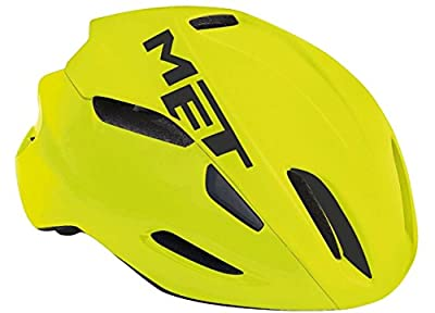 MET Manta Helm Safety Yellow 2018 Fahrradhelm