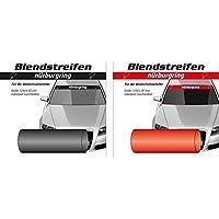 Vinilo parabrisas oficial Nurburgring (Negro)