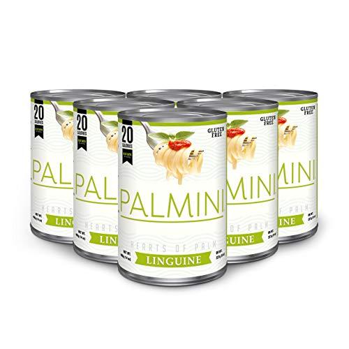 Palmini - Nudeln aus Palmenherzen | Low-Carb-Pasta, kohlenhydratarm, vegan, glutenfrei | 6er Pack
