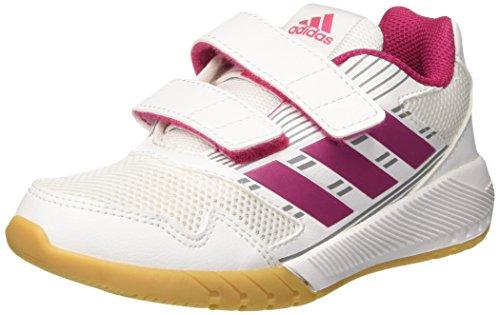 Adidas Unisex-Kinder Altarun Cf Laufschuhe, Mehrfarbig (Ftwr White/Bold Pink/Mid Grey S14), 32 EU