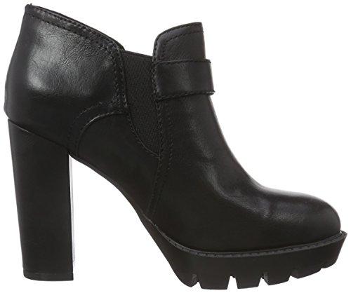 Café Noir Women Shoes, Chaussures à talons - Avant du pieds couvert femme Noir - Schwarz (010 NERO)