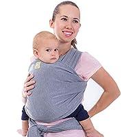 Fular portabebés - Fular portabebés elástico todo en 1 - Portabebés lateral - Mochila Portabebés - Fular para bebés - Fular portabebés manos libres - El mejor regalo de Baby Shower