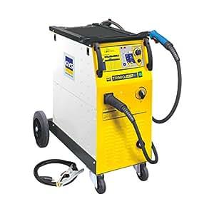 Poste à souder semi-automatique Tension de fonctionnement 230 V ou 400 V Courant de soudage 30 - 250 A GYS TRIMIG 250-4S