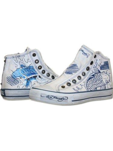 Preisvergleich Produktbild ED HARDY Damen Designer Schuhe - KOI -36