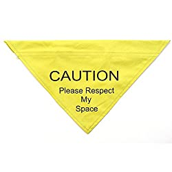 Ancol Pet Products Warning Respect My Space Bandana
