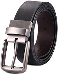 Alice & Elmer Uomo Vestito Cintura Larghezza 38mm Inversa Con Le Cinghie Elastiche Ruotabili Rimovibili