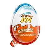 (6 Eggs) Surprise Chocolate JOY for BOY by Kinder Joy