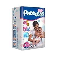 Paddlers Newborn 1 Beden 13 Adet (2-5 Kg) Deneme Paketi Bebek Bezi, Beyaz