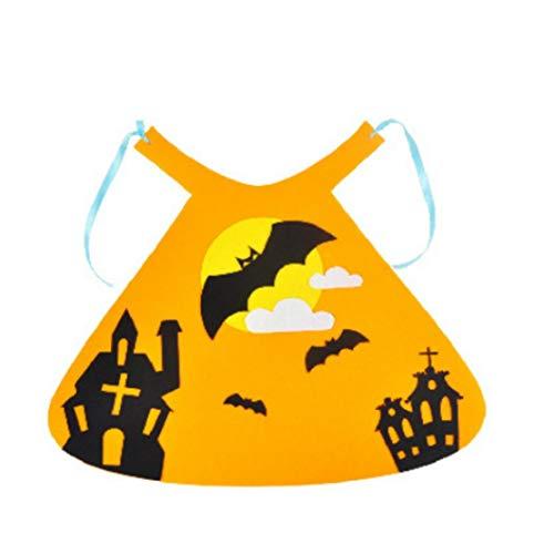 Kostüm Halloween Non - MICHAELA BLAKE Halloween-Kostüme, Baby-Cartoon-Umhang Lustige Non-Woven-Umhang Halloween Cosplay Umhang für Halloween-Party (Bat Style)