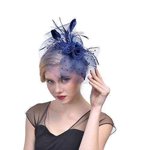NLXX Filles Fête Mariage Cheveux Décoratives Pins Serre-Tête Coiffe avec,5