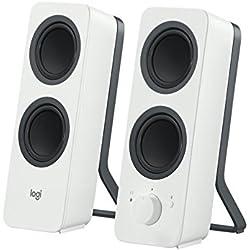 Logitech Z207 - Haut-parleurs Bluetooth/PC - Blanc