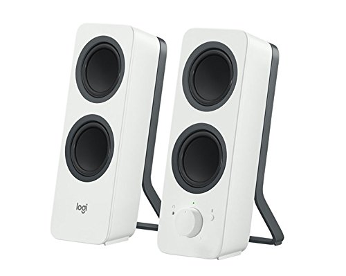 Logitech Z207 - Altavoces Bluetooth para PC, color blanco