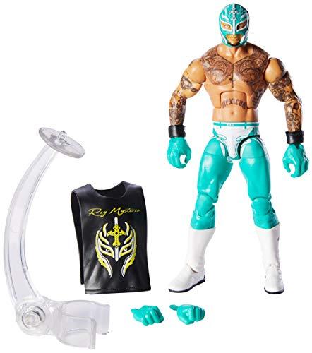 WWE GCL54 - 15 cm Elite Figur Rey Mysterio (Figuren Mattel Wwe)