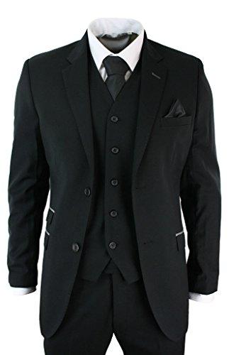 Albrose Herren Anzug Schwarz