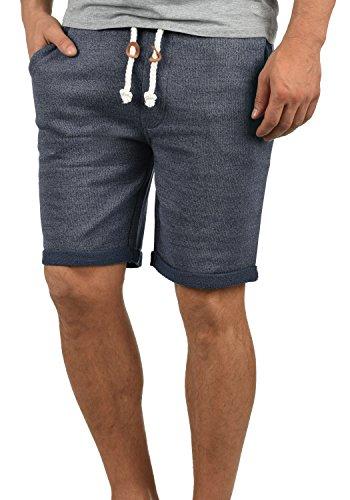 Redefined Rebel Memphis Herren Sweatshorts Kurze Hose Jogginghose Aus 100% Baumwolle Mit Kordel Regular Fit, Größe:XXL, Farbe:Navy