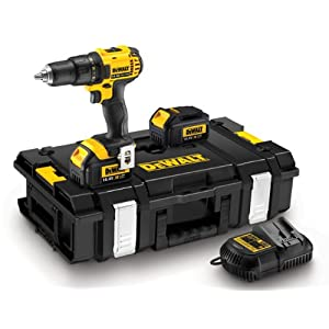 Dewalt DCD730L2K-QW Akku-Bohrschrauber-Set 14.4 Volt in. Tough-box