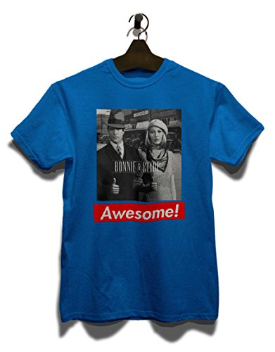 Awesome 15 T-Shirt Royal Blau
