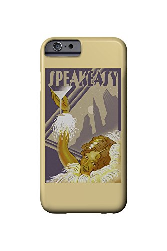 Speakeasy - Flapper Girl (iPhone 6 Cell Phone Case, Slim Barely There)
