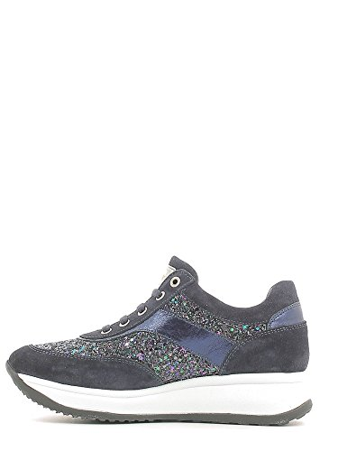 liu jo , Chaussures de ville à lacets pour fille Bleu