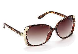 Olvin UV- Protected (OL285-06) Brown Womens Oval Sunglasses GOOD STUFF WITH PREMIUM LOOKS
