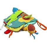 Libri per bambini, nuovo libro di stoffa per neonati tridimensionale con code di animali divertenti Libro educativo precoce per 6-24 mesi Neonati Giocattoli per bambini Anti-strappo Libro di stoffa