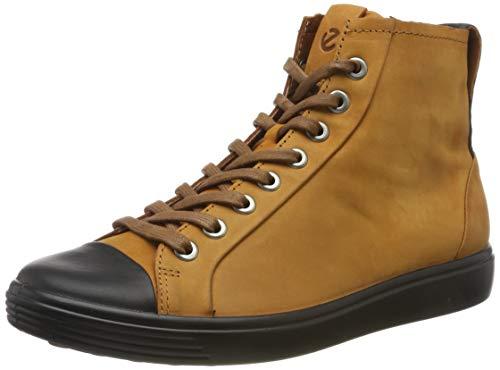 ECCO Damen Soft 7 W Hohe Sneaker, Braun (Black/Amber 59200), 40 EU