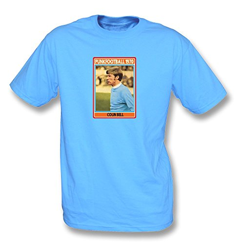 PunkFootball George Best-T-Shirt - Mädchen Slimfit, Farbe- Rot