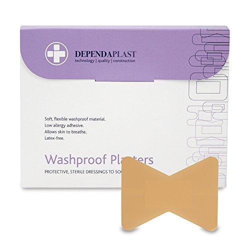 Reliance Medical Dependaplast REL538 Waschechter Gips, Fingerspitze (50er Pack)