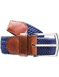 Stretchgürtel schwarz braun oder blau
