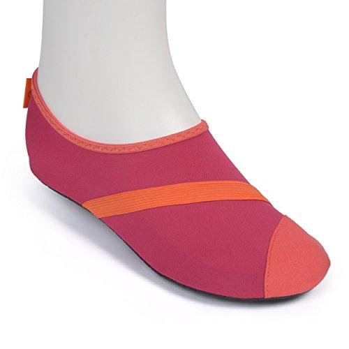Fitkicks Zapatillas Flexibles, Ideales para Yoga, Ballet y Deportes...