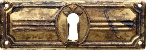 Schlüsselblatt Jugendstil 37 x 94 - Qualität aus Europa seit 1998