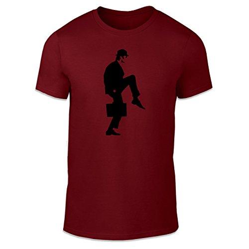 WTF Herren T-Shirt Kastanienbraun