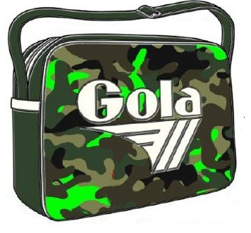 BORSA GOLA MIDI REDFORD CAMO BRIGHT FOREST GREEN