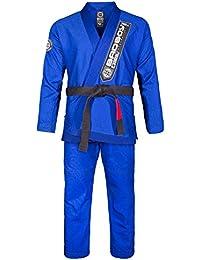 Bad Boy Pro Series Champion BJJ Gi Suit, hombre, color azul, tamaño Talla A5