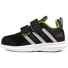 adidas Hyperfast 2.0 CF I, Zapatos de Primeros Pasos Bebé-Niños, Negro (Negbas / Plamat / Seveso), 25 EU