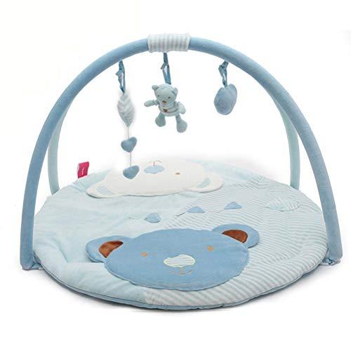 RUG ZI LING Shop- Baby-Spiel-Decke Gamepad kriechende Matte kriechende Decke Vollmond-Geschenk pädagogische Spielwaren (Farbe : Blau)