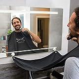 |Bartschürze| Das Original Barttuch von BARTLOS inkl. Transportbeutel - für die perfekte Rasur,...