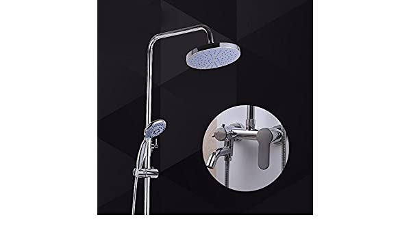 Saejj rubinetto doccia set doccia per bagno hardware bronzo