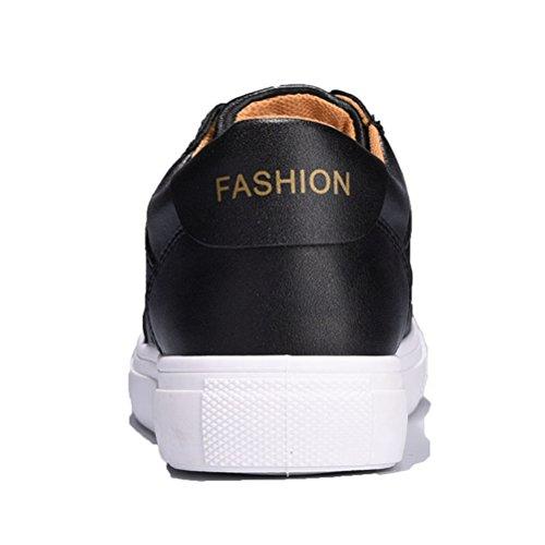 Damen Sommer Frühling Schnürsenkel Lässige Flache Modische Moderne Einfache Sneakers Schwarz