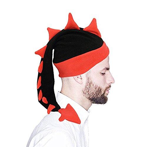 Geekbuzz Lustige Kostüme Drachen Endstück Hut Neuheit Fancy Partei Dress Kostüme Caps zum Schlafen Crazy Partei Kopfbedeckungen für Erwachsene Kinder (groß, ()