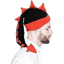 Geekbuzz Sombreros de cola de dragón tontos divertidos Disfraces de disfraces de novedad Gorras de noche