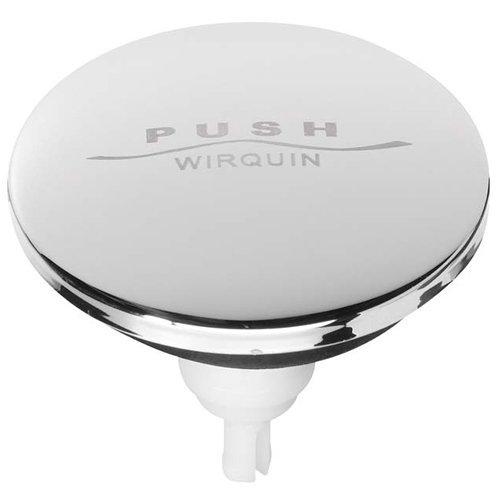 Wirquin SP9260Clapet de remplacement chromé pour bonde clic-clac pour baignoire et lavado-multicolore