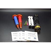 Olax 5ml Dünn, Licht + 5ml Dickflüssig, Dick Fliegenbinden Kleber, Leim Kit mit Zoombare UV Taschenlampe preisvergleich bei billige-tabletten.eu